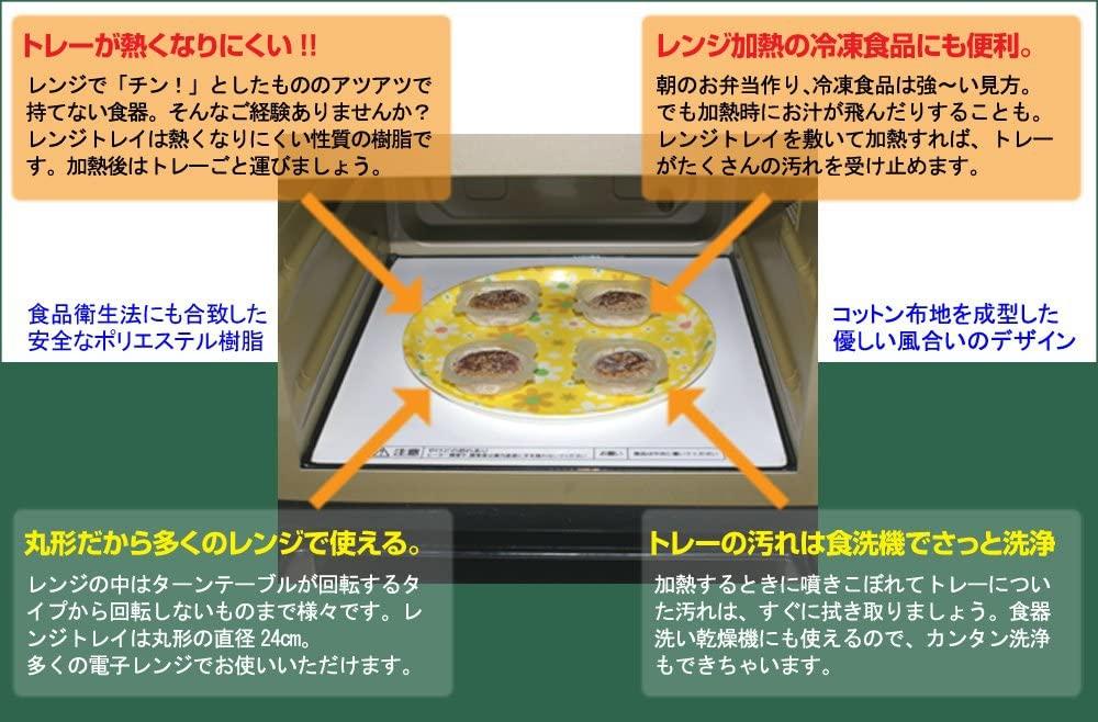 Tatsu-craft(タツクラフト)SR ランチョントレー S 丸の商品画像4