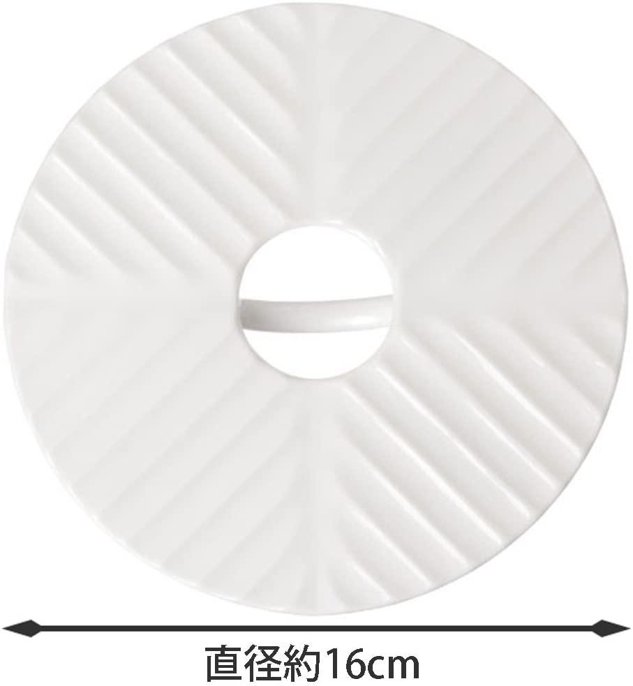 貝印(カイ)蒸し皿 & 落し蓋 16cm ホワイト DH-3110の商品画像4