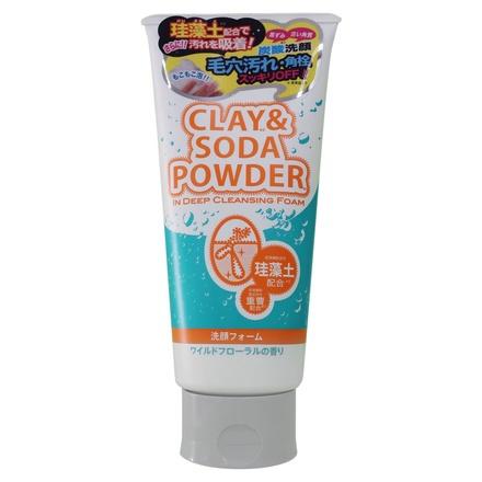 CLAY&SODA(クレイアンドソーダ) パウダー イン ディープクレンジングフォーム
