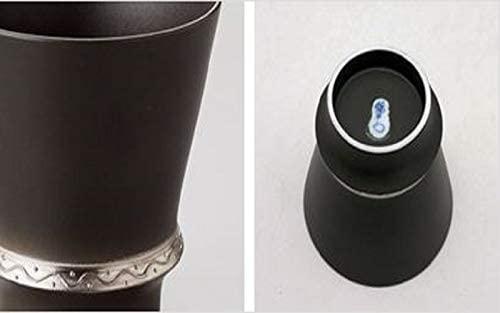 まるぶん 至高の焼酎グラス「いぶし銀」280ml T_98849の商品画像3