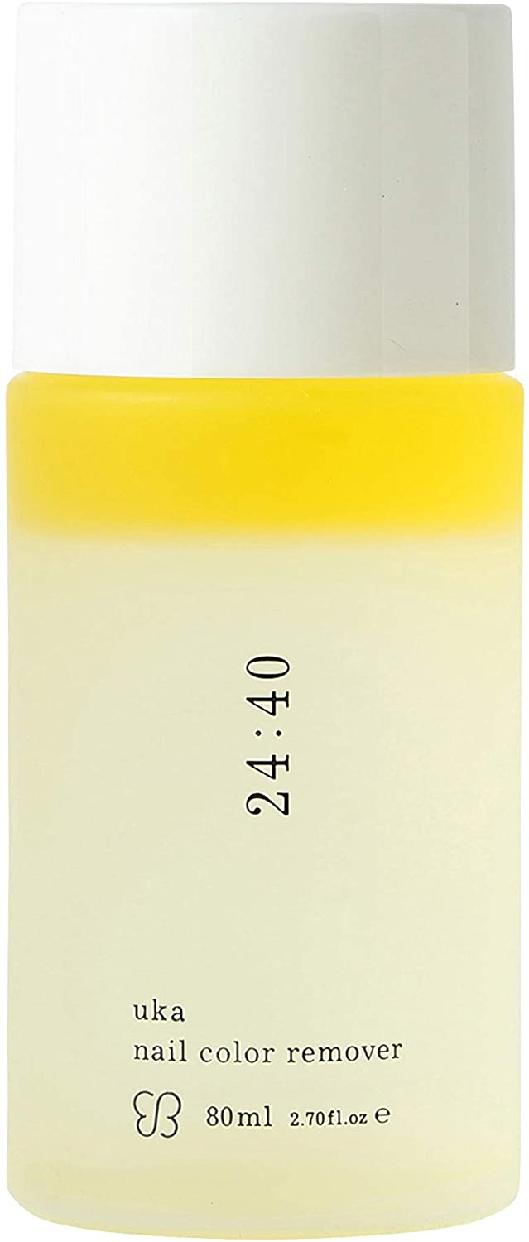 uka(ウカ) nail color remover 24:40の商品画像