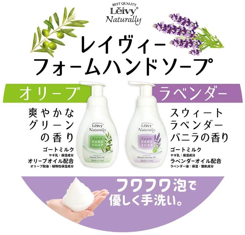 Leivy Naturally(レイヴィー・ナチュラリー) フォームハンドソープの商品画像5