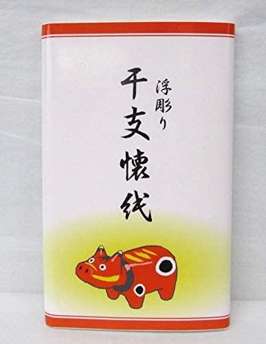 宝雅堂(ホウガドウ) 令和3年 干支「丑」 懐紙セット 3帖セット 90枚の商品画像4