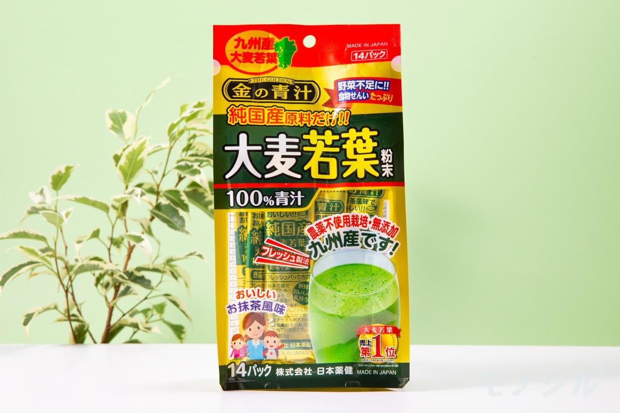日本薬健 金の青汁 純国産大麦若葉100%粉末