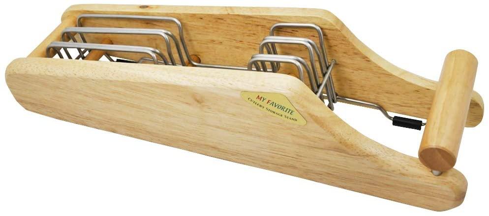 貝印(KAI) 包丁 スタンド MY FAVORITE 木製 ブラウン AP0520の商品画像