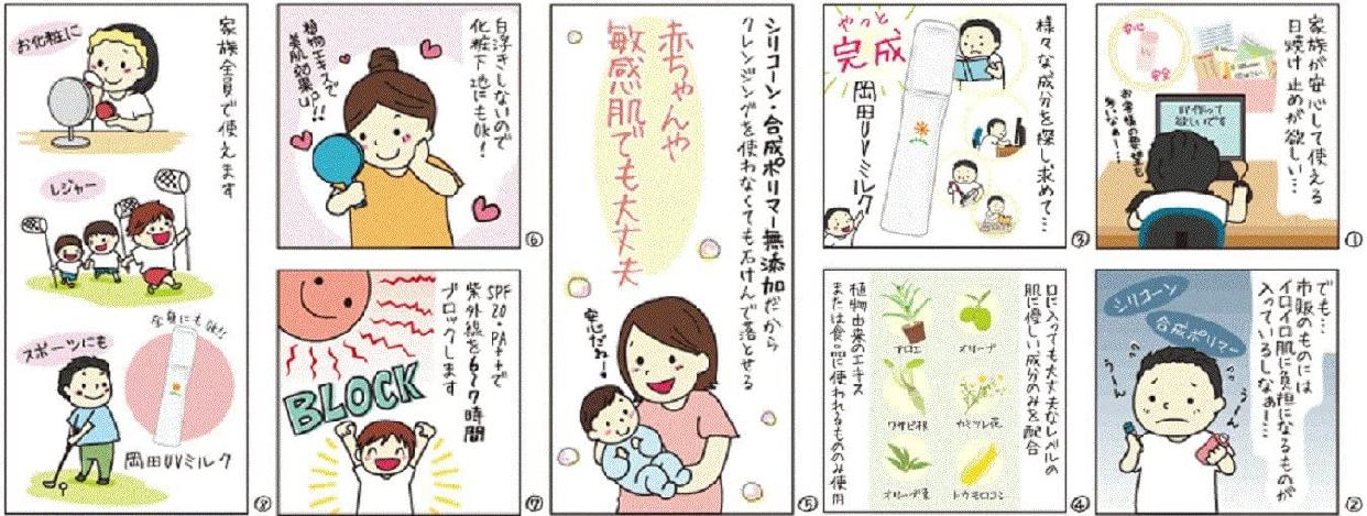 無添加工房OKADA(むてんかこうぼうおかだ)岡田UVミルクの商品画像3