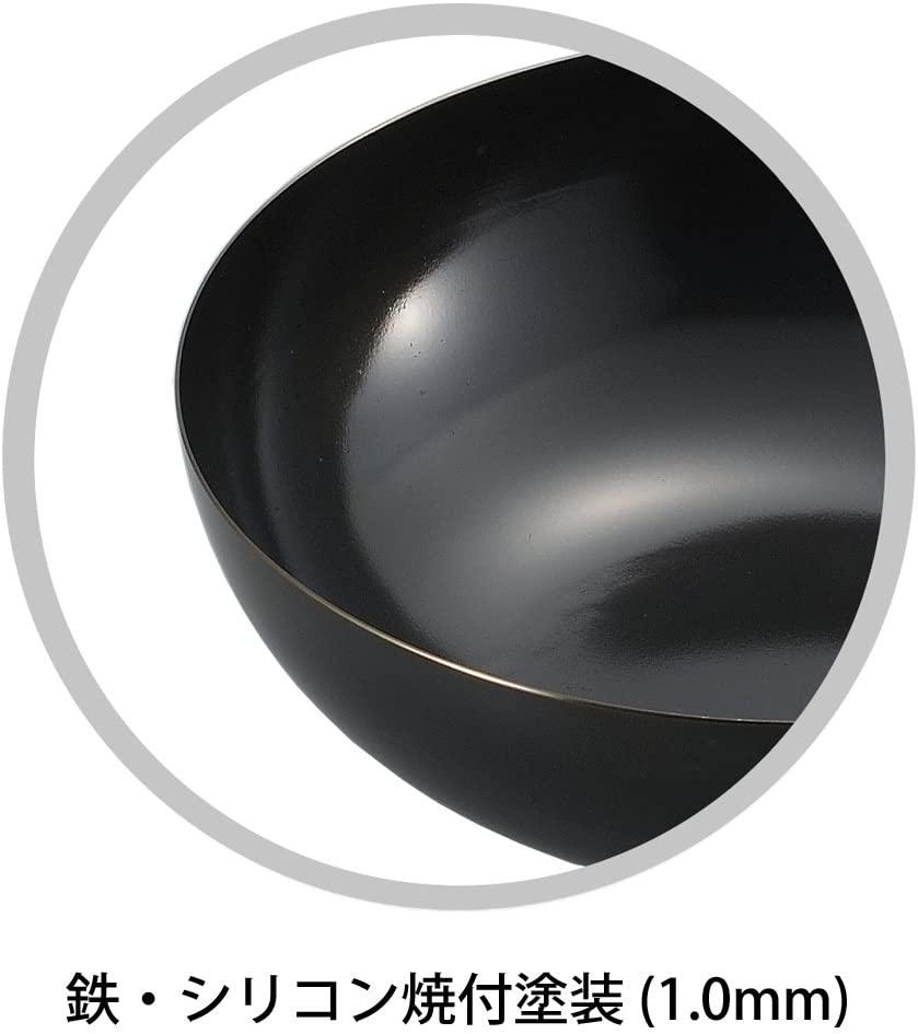 陳 建一(チン ケンイチ) 共柄北京鍋 黒 26cm CK-424の商品画像3