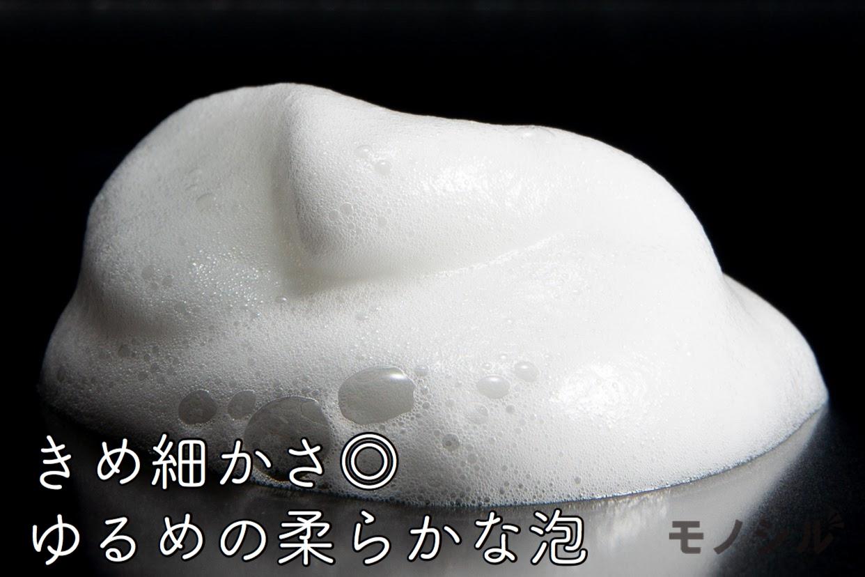 ORBIS(オルビス) スカルプイズム シャンプーの商品画像4 商品の泡立ち