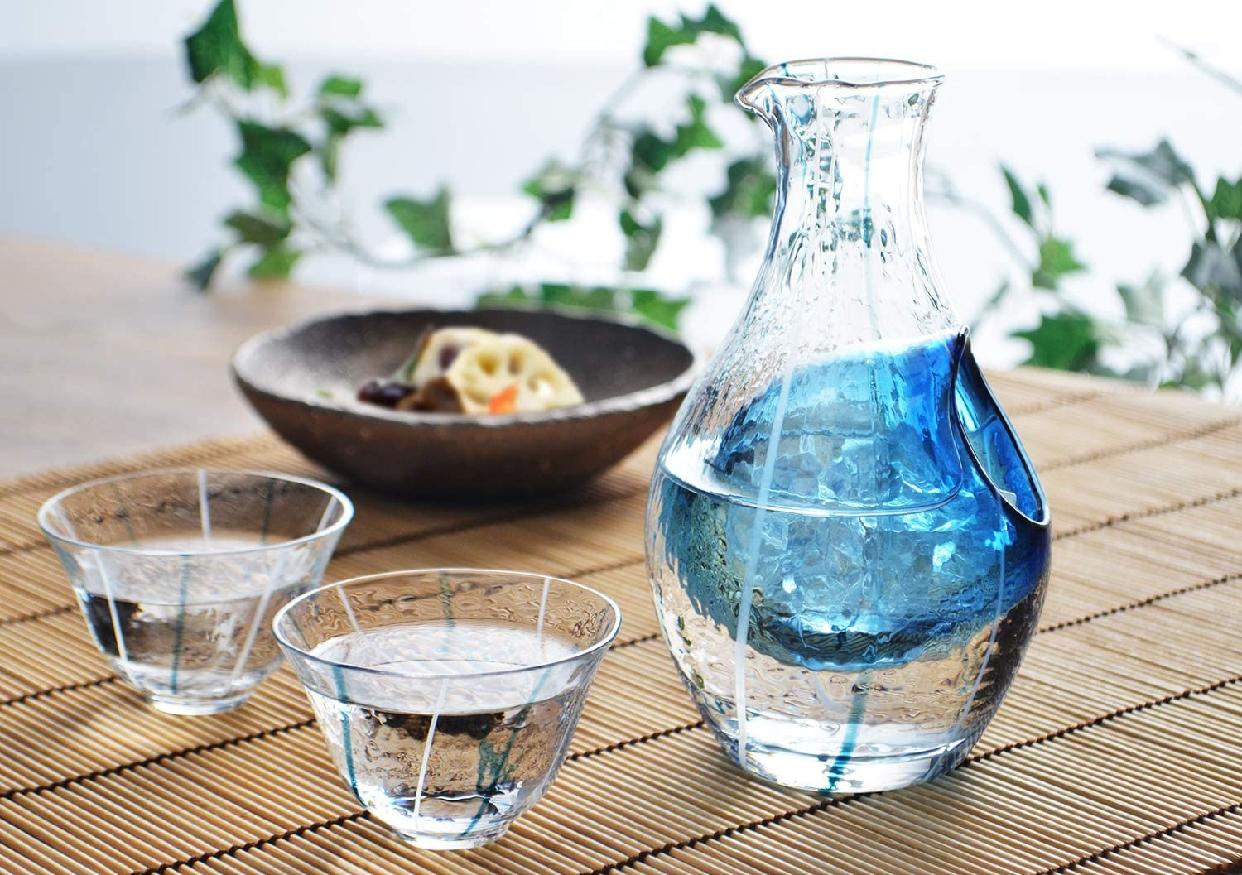 東洋佐々木ガラス(とうようささきがらす)日本酒グラス 冷酒セット G538-M66の商品画像7