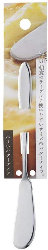 貝印(カイジルシ)小さいバターナイフ FA5160 シルバーの商品画像2