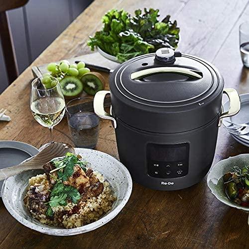 Re・De Pot(リデ ポット) 電気圧力鍋 2Lの商品画像4