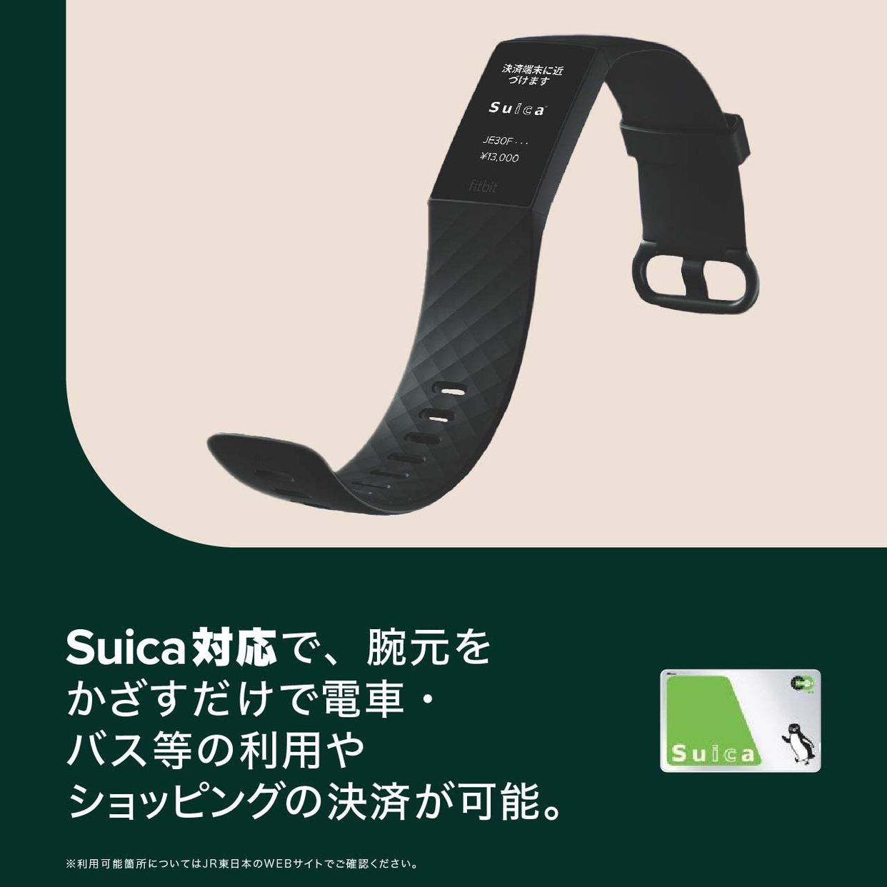 Fitbit(フィットビット) Charge 4(Suica対応)の商品画像3