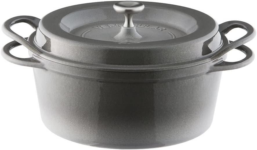 VERMICULAR(バーミキュラ) オーブンポットラウンド22cm パールグレーの商品画像