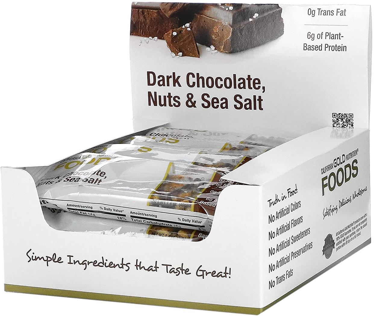 California Gold Nutrition(カリフォルニア ゴールド ニュートリション) プロテインバーの商品画像