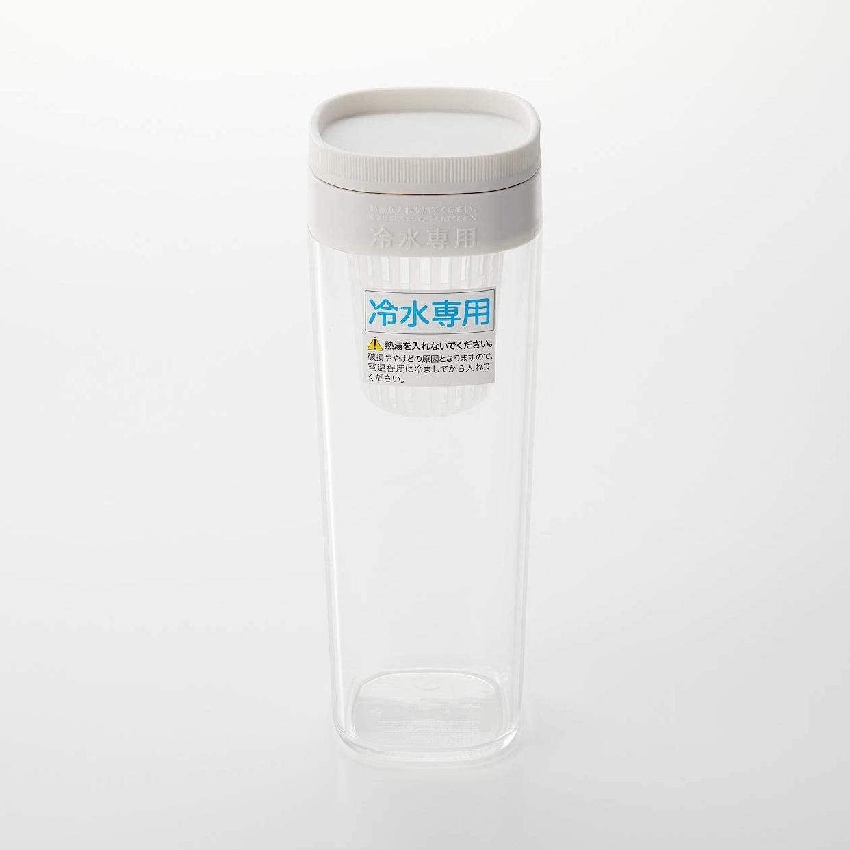 無印良品(MUJI) アクリル冷水筒 ドアポケットタイプ/冷水専用約1Lの商品画像3