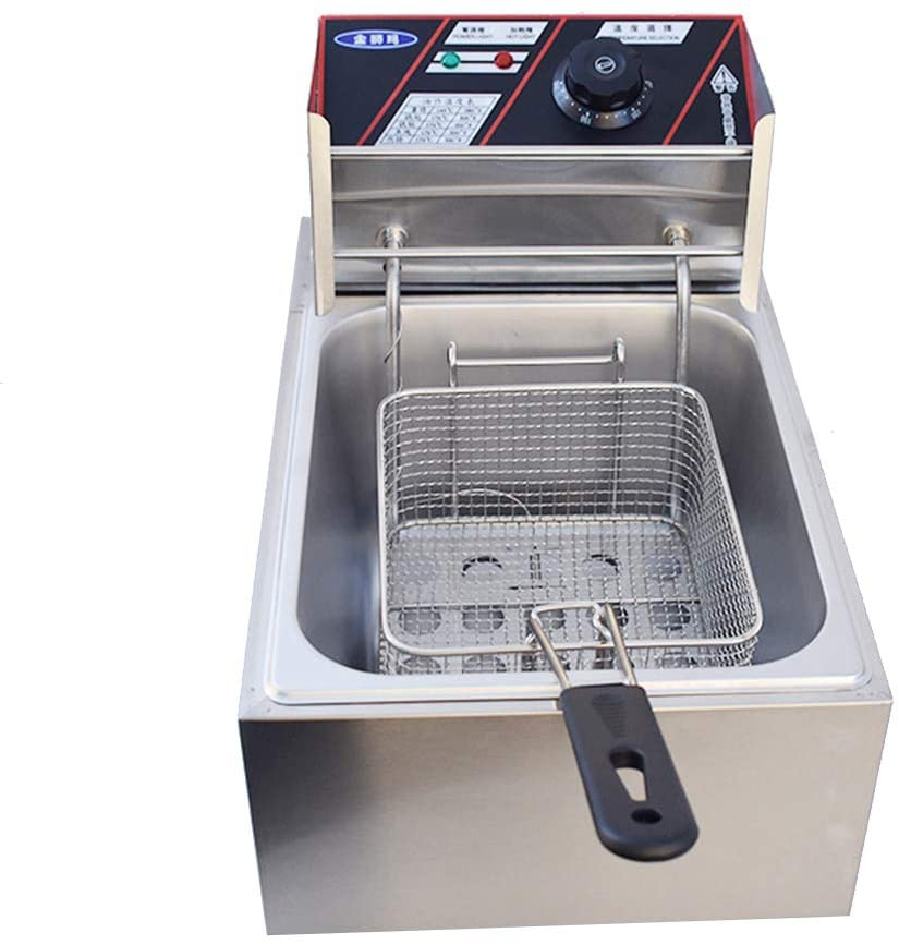 EC Hometec(イーシーホームテック) 電気フライヤー 60-200℃温度調節 6L大容量 シルバーの商品画像7