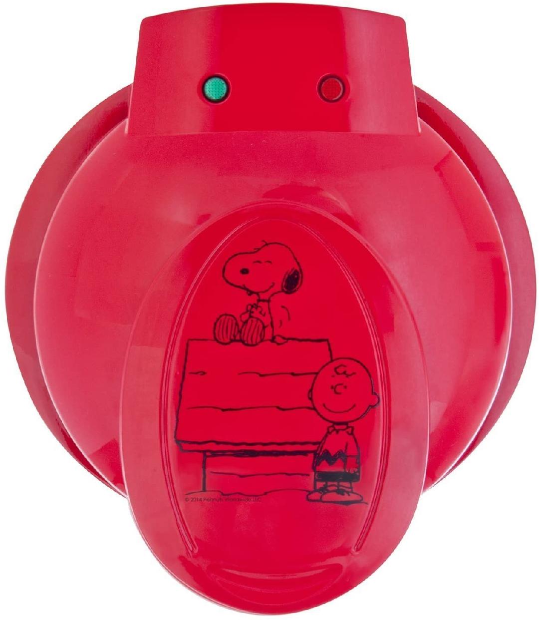 フロンティア物産(フロンティアブッサン)ワッフルメーカー スヌーピー&チャーリーブラウン WM-6S レッドの商品画像