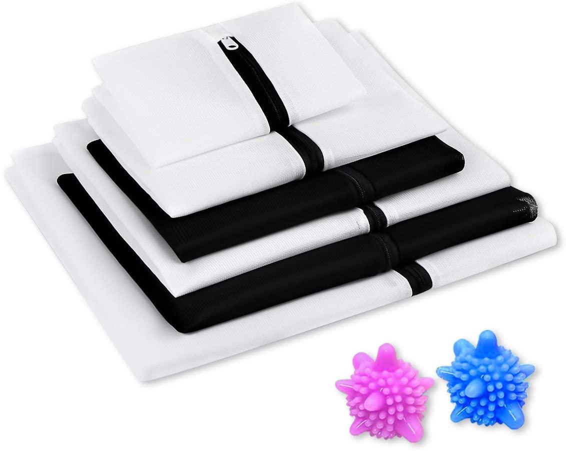 Miuphro(ミウフロ) ランドリーネット 洗濯袋セット 6枚入 洗濯ボール付きの商品画像