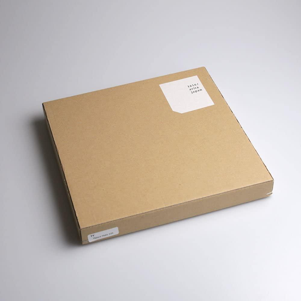 1616 / arita japan(1616アリタジャパン) TY Palace Plate220(L) Grayの商品画像7