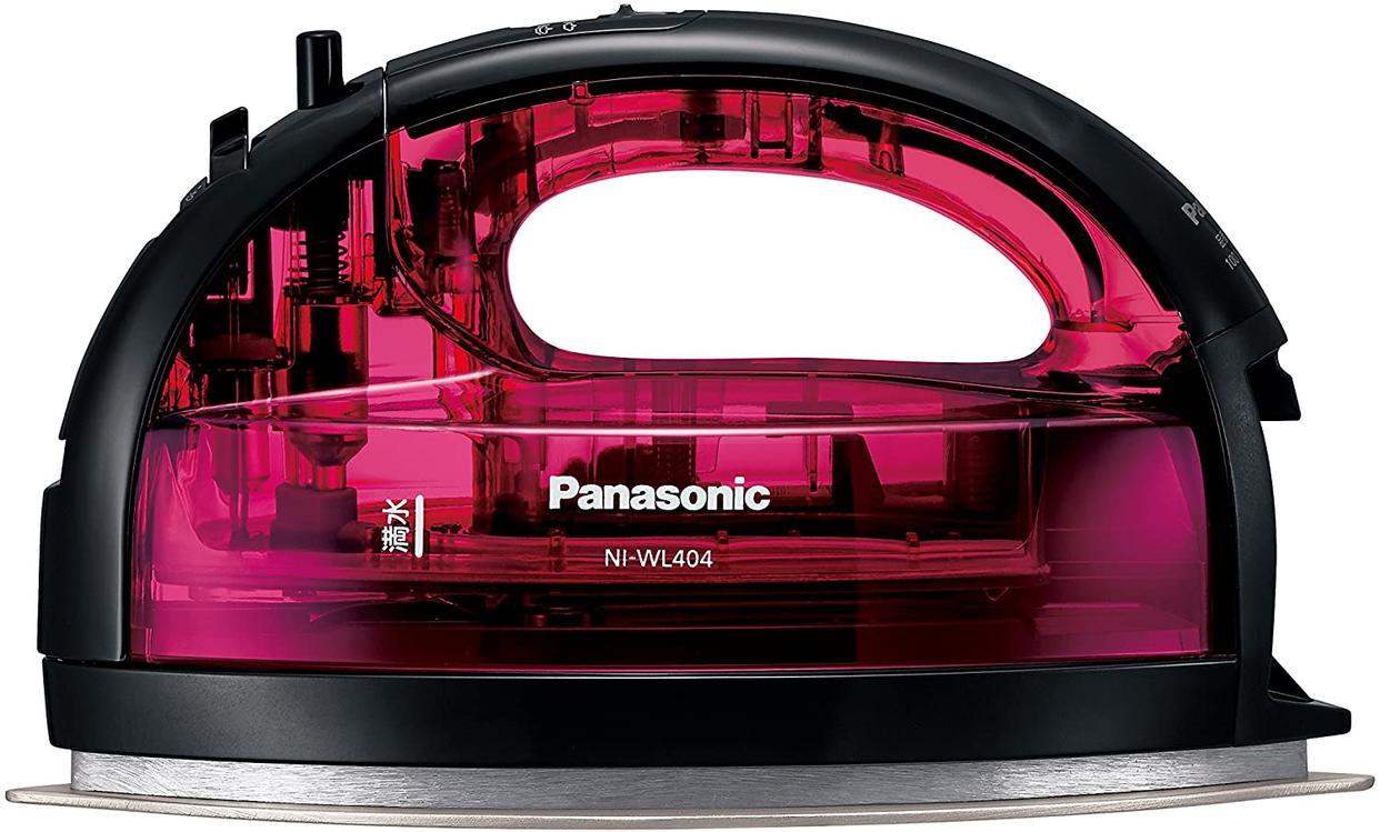 Panasonic(パナソニック) コードレススチームWヘッドアイロン NI-WL404-Pの商品画像2