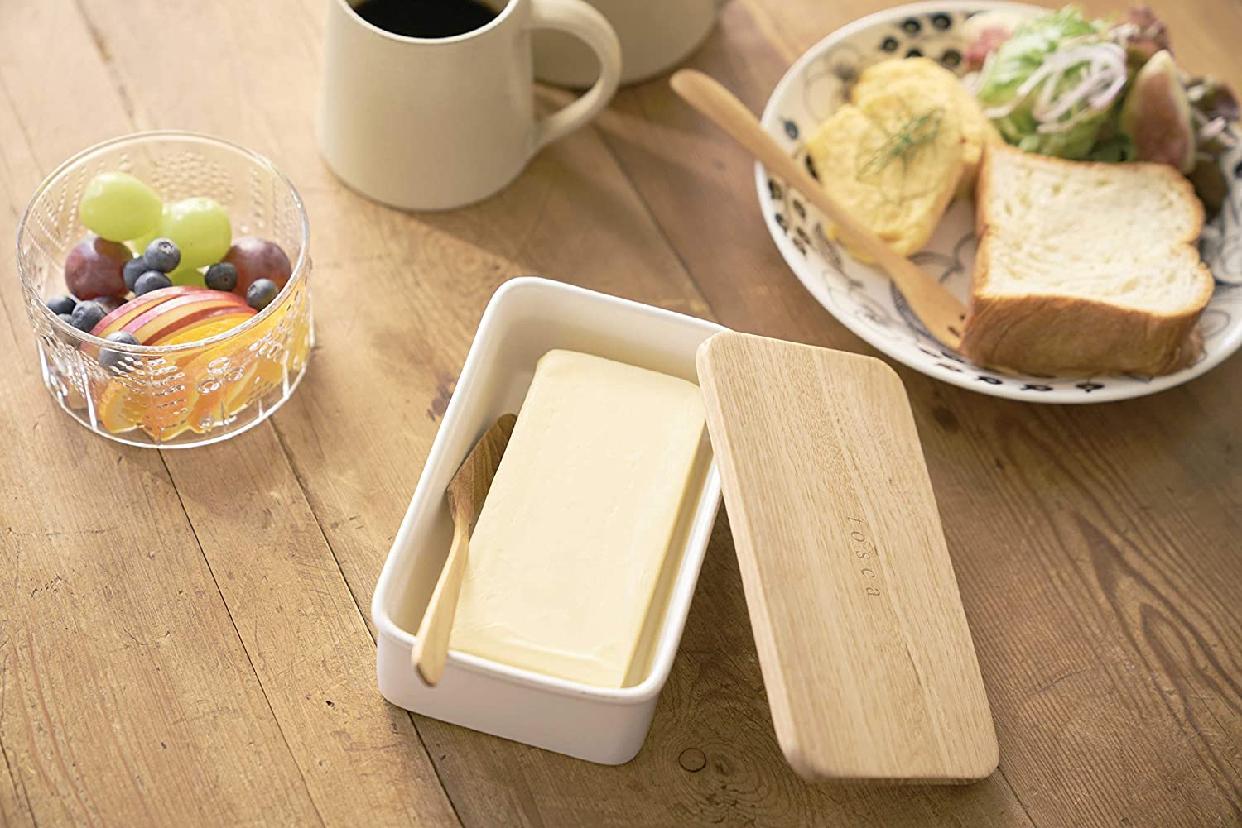 山崎実業(やまざきじつぎょう)バターケース トスカ 3926の商品画像4
