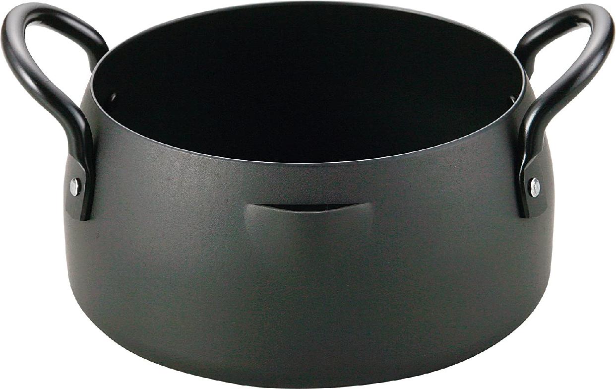 和平フレイズ(FREIZ) 鉄共柄天ぷら鍋16cm EM-8286の商品画像
