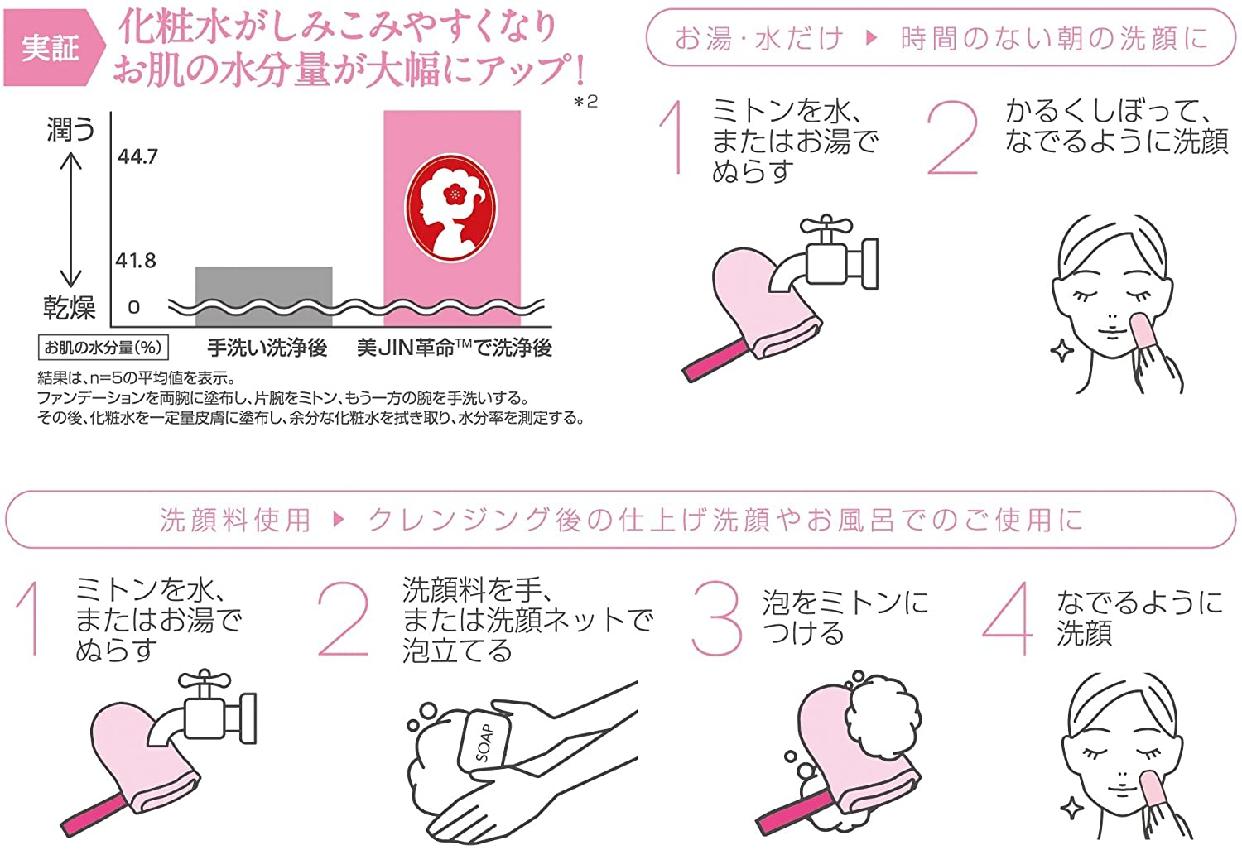 美JIN革命(びじんかくめい)フェイスミトンの商品画像6