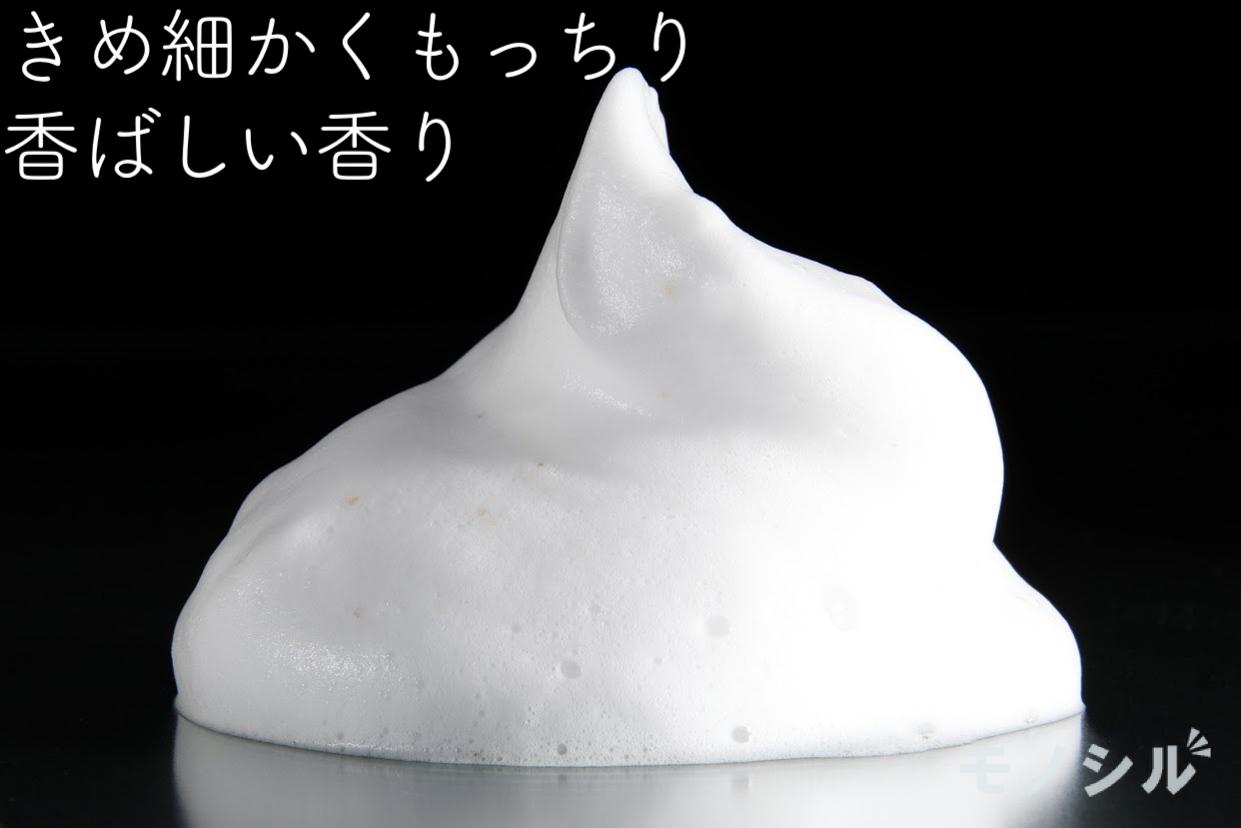 米一途(comeitto) 洗う米ぬかパウダーの商品画像4 商品で作った泡とその説明