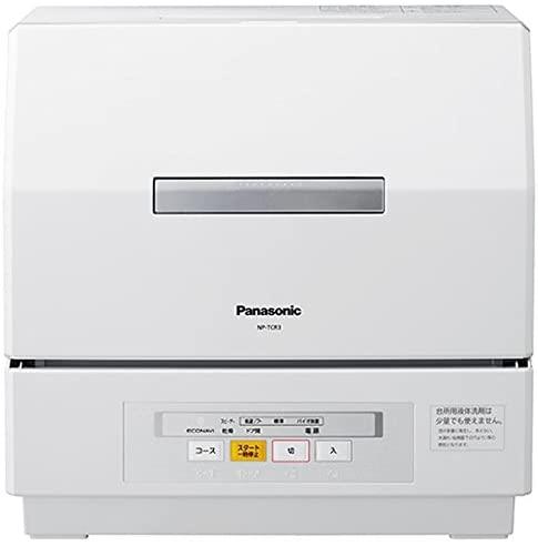 Panasonic(パナソニック) 食器洗い乾燥機 NP-TCR3-W(ホワイト)の商品画像