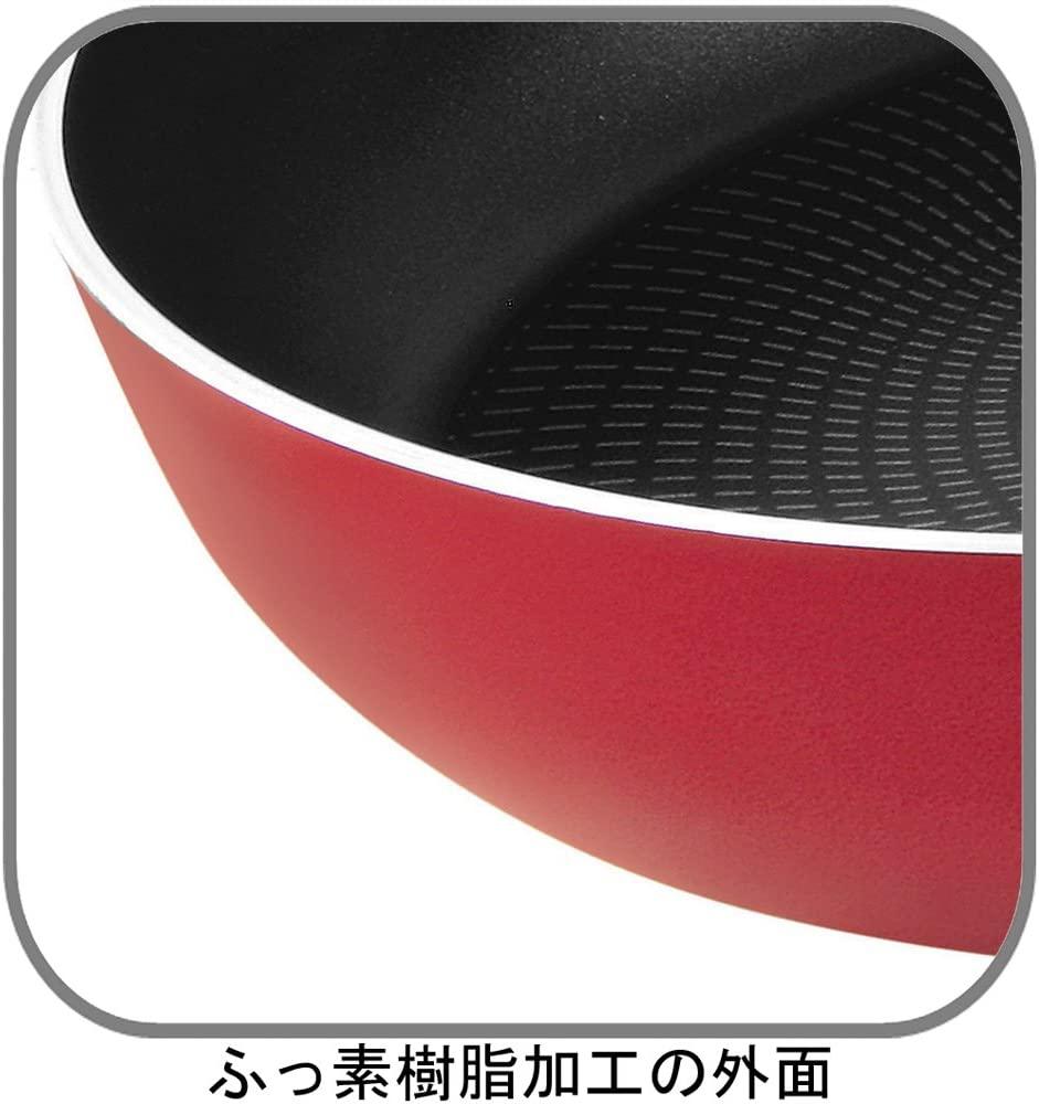 T-fal(ティファール)ディープパン フェアリーローズ 22cmの商品画像2