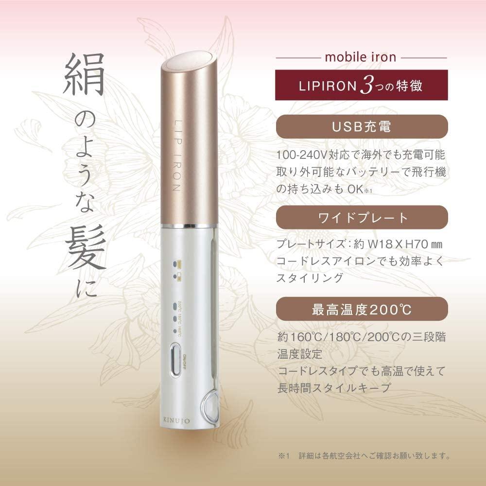 絹女(KINUJO) LIP IRON DS058の商品画像3