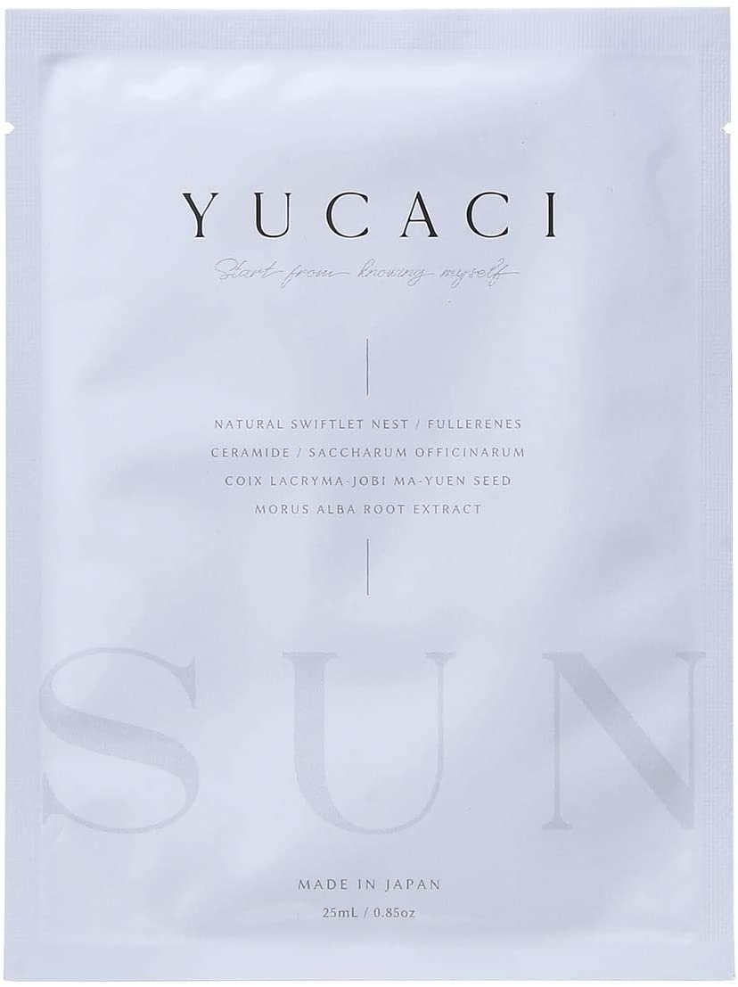 YUCACI漢方フェイスマスク SUN