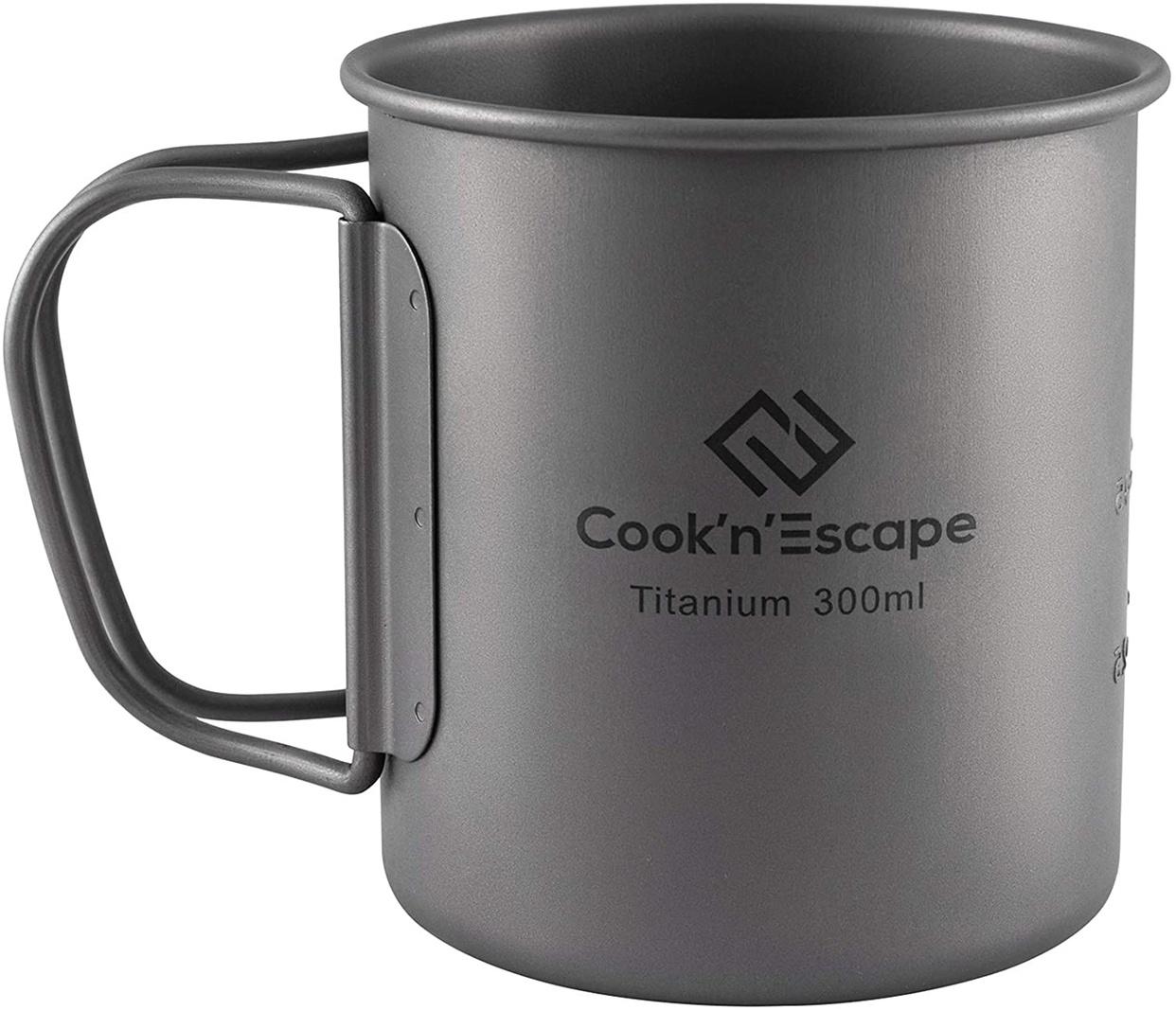 COOK'N'ESCAPE(コックンエスケープ) アウトドア用マグカップの商品画像