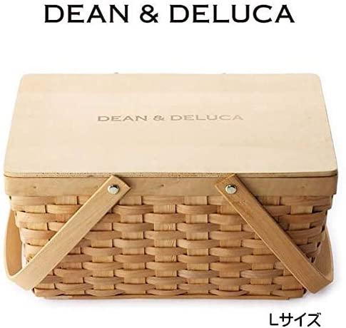 DEAN&DELUCA(ディーンアンドデルカ)蓋つきバスケットL クリームの商品画像3