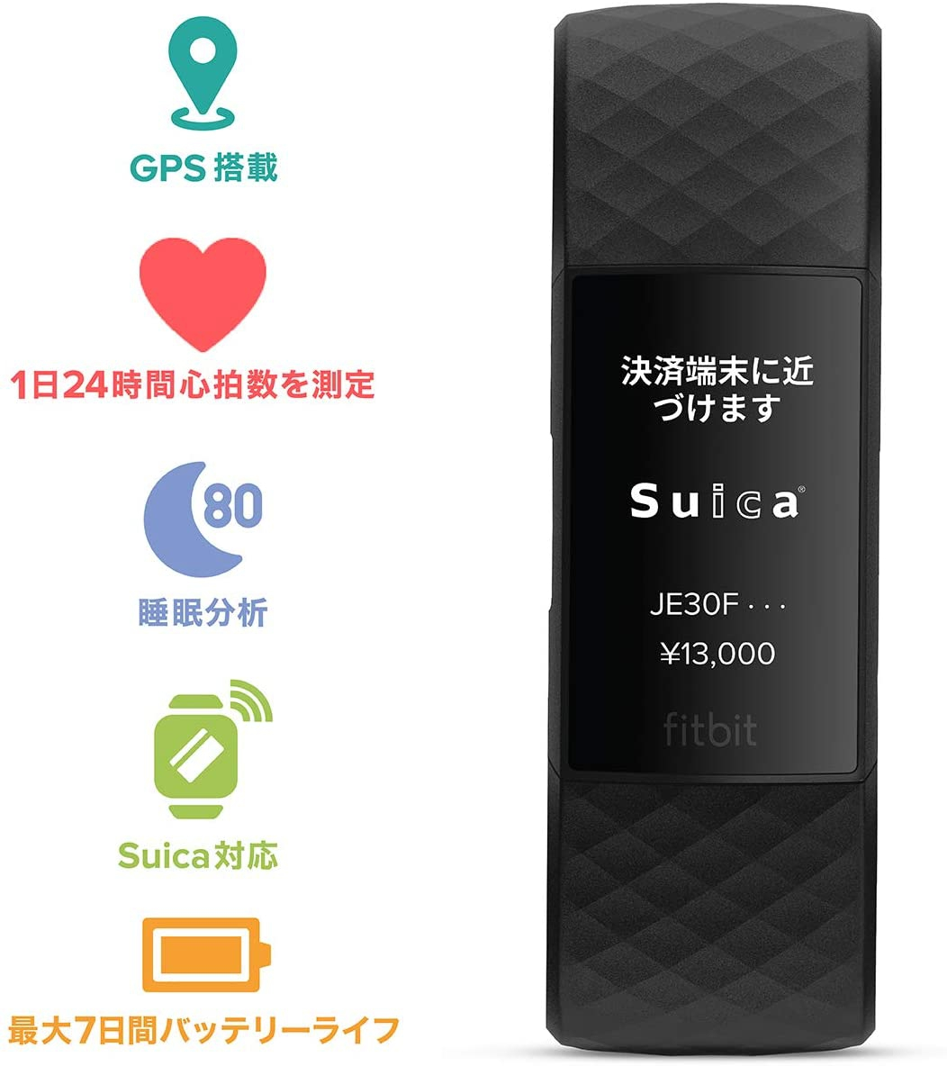 Fitbit(フィットビット) Charge 4(Suica対応)の商品画像2