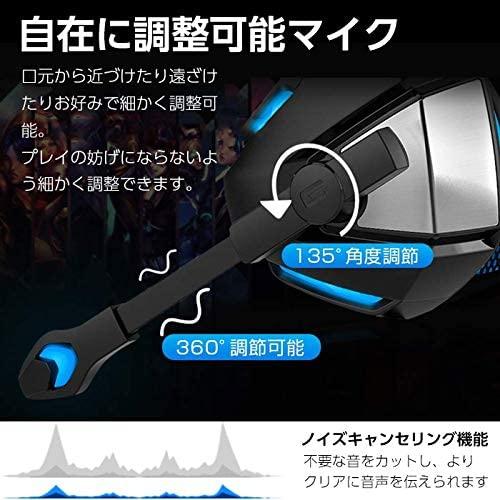 Ginova(ジノヴァ) ゲーミングヘッドセット G7500の商品画像6