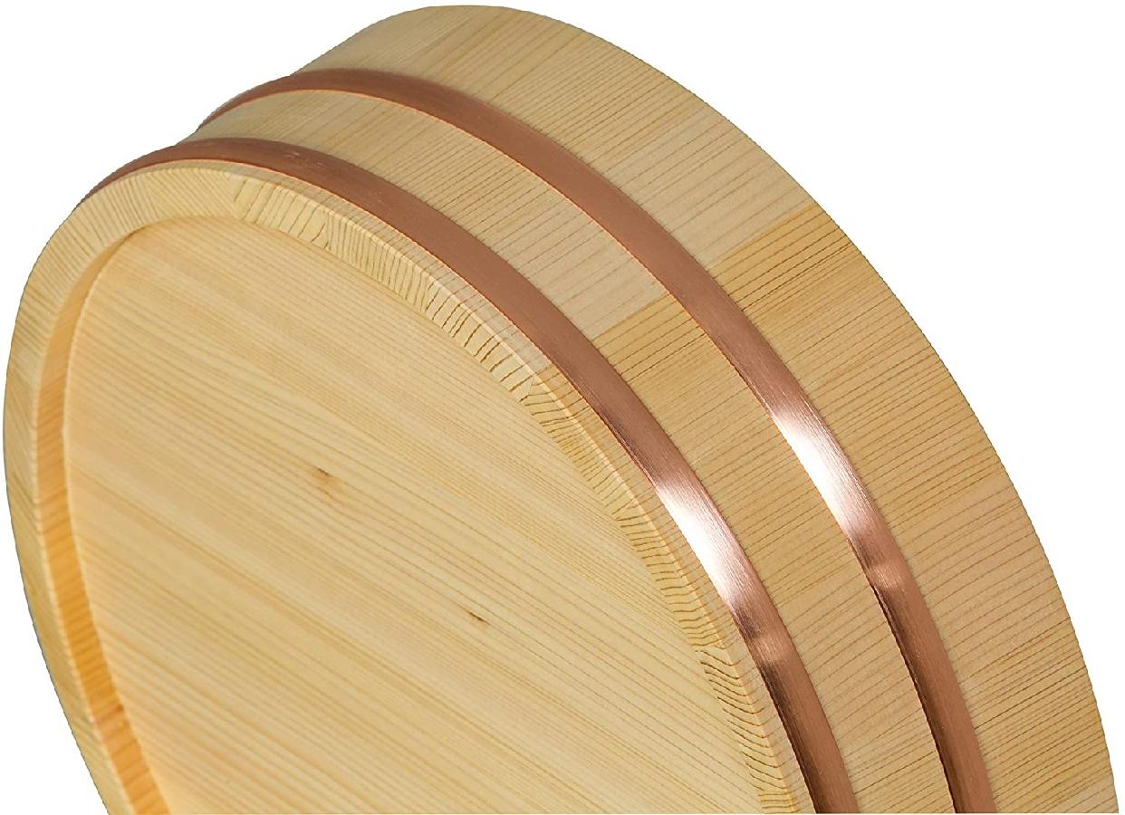 志水木材産業 寿司桶 33cm SU33の商品画像2