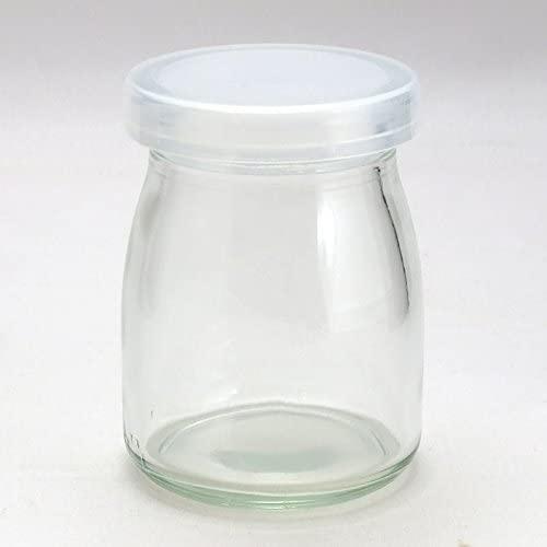 ジャムびん.com 食料品容器専門店(ジャムビンドットコム)ヨーグルト100ml PE CAP 10本セットの商品画像5