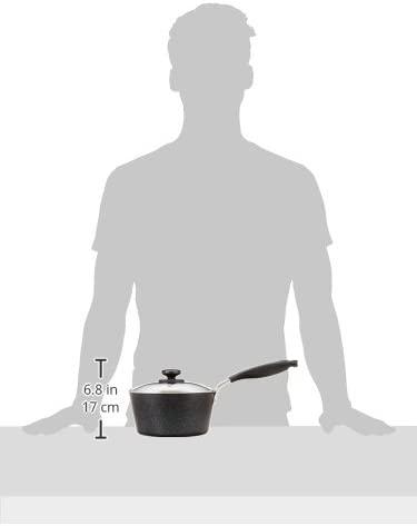 PREMIUM MARBLE(プレミアムマーブル)IH対応ガラス蓋付片手鍋18cm  H-4236の商品画像5