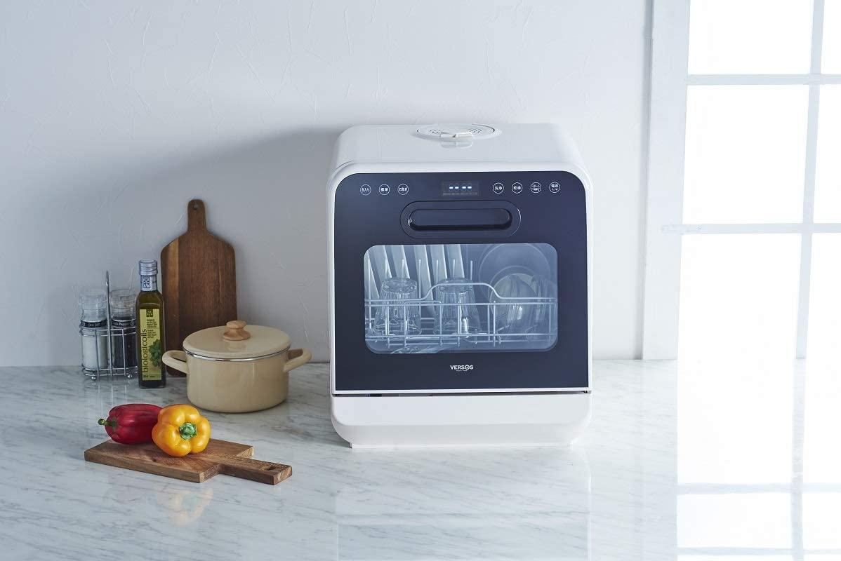 VERSOS(ベルソス) 食器洗い乾燥機 ホワイト VS-H021の商品画像2