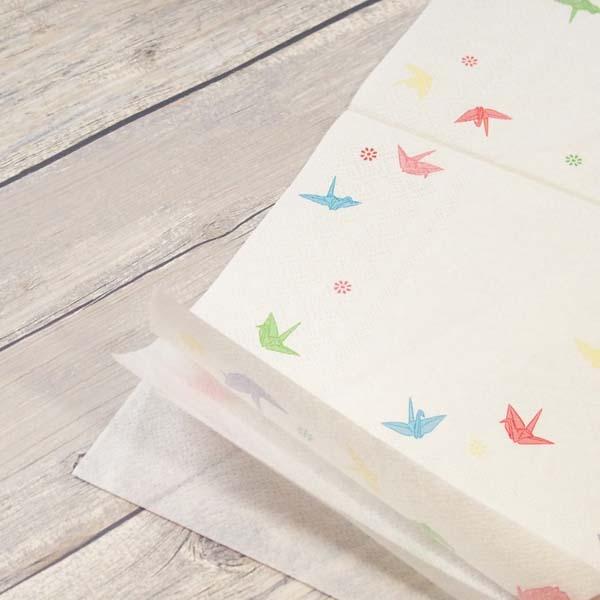 FRONTIA(フロンティア) ペーパーナプキン 折り鶴|pnk-047の商品画像6