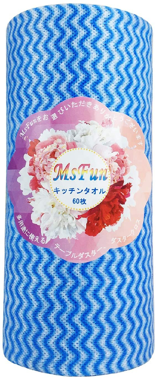 MsFun キッチンタオル 60枚入の商品画像
