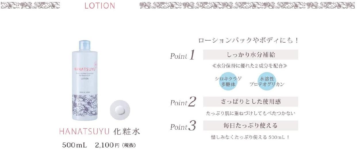 HANATSUYU 化粧水の商品画像4