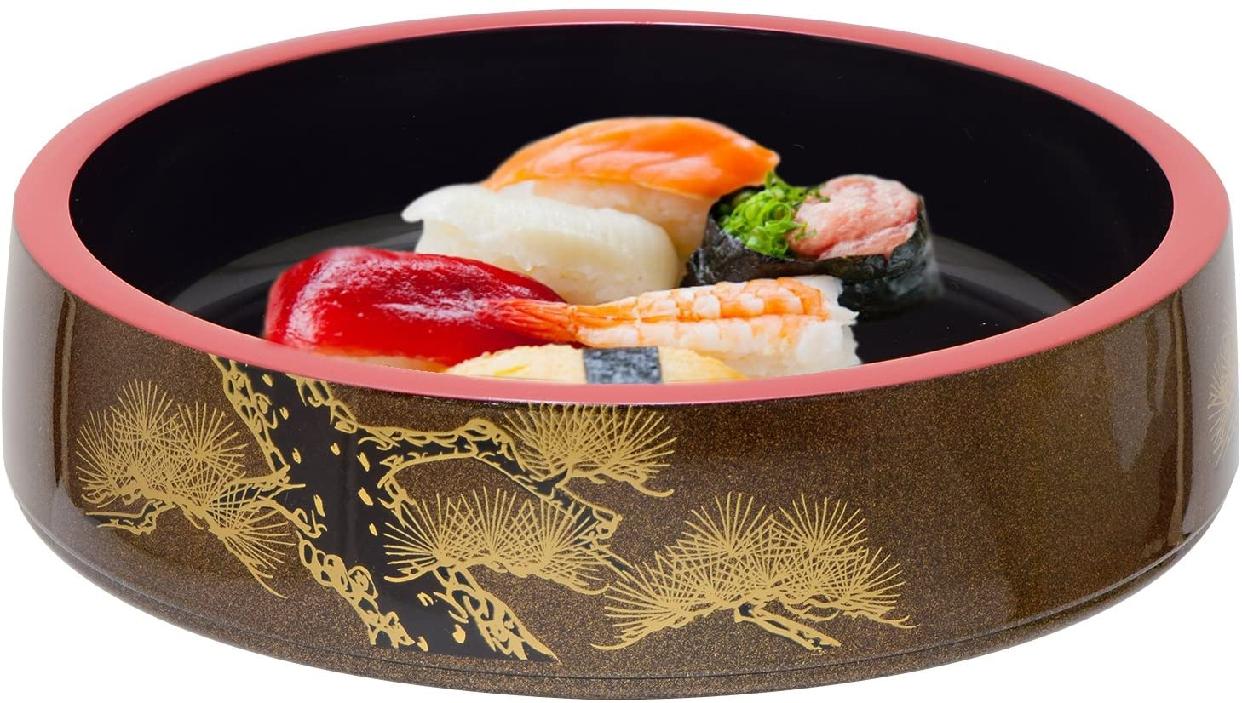高儀 寿司桶梨地老松  1人7寸の商品画像3