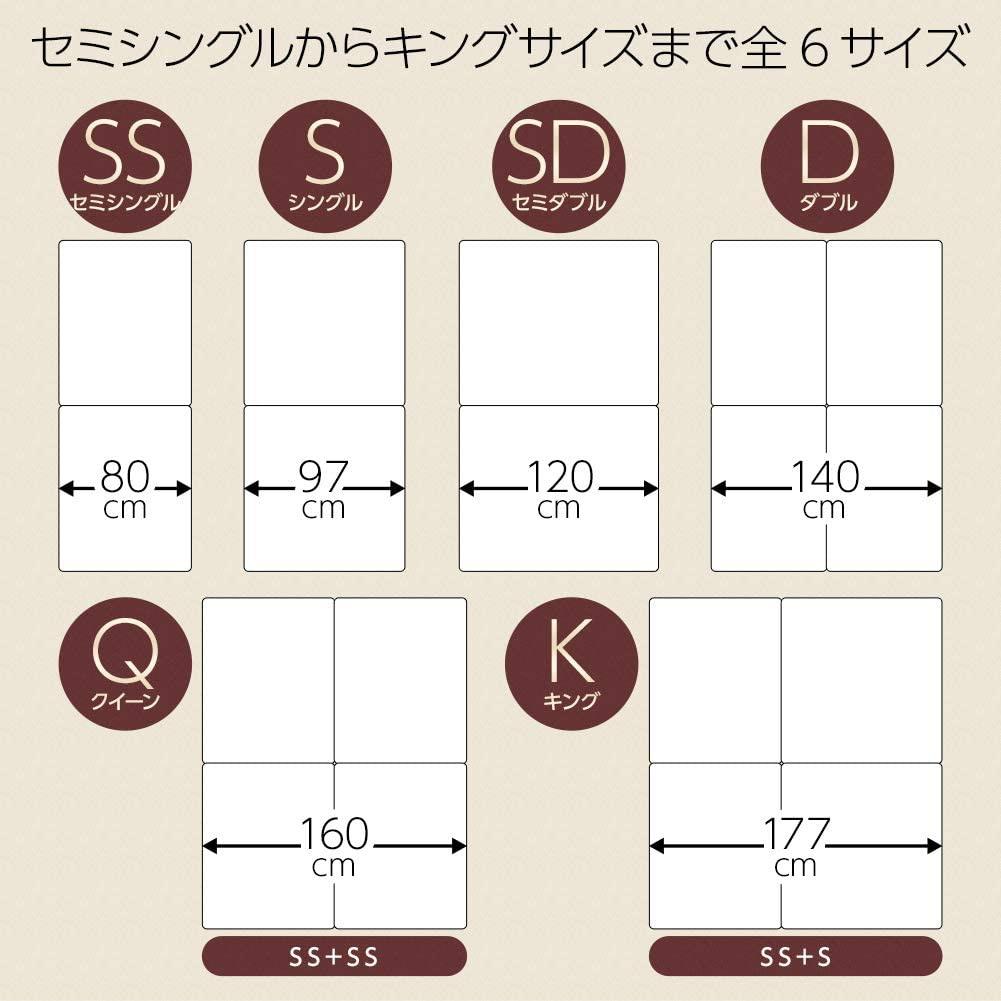 BEST VALUE STYLE(ベストバリュースタイル) シンプルデザインボトムベッドの商品画像5