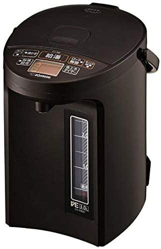 象印(ぞうじるし)マイコン沸とうVE電気まほうびん 優湯生 CV-GB30の商品画像