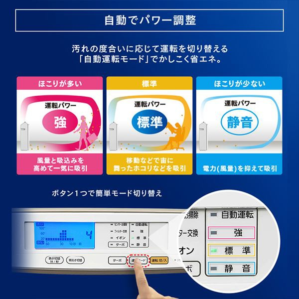 IRIS OHYAMA(アイリスオーヤマ) モニター空気清浄機 RMDK-50の商品画像7