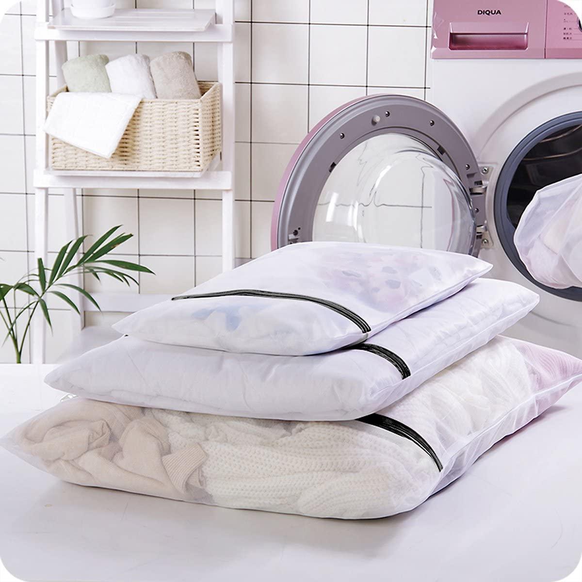 GLAMOURIC(グラモリック) GLAMOURIC 洗濯ネット ランドリーネット 洗濯袋 6枚入セット 2個洗濯ボール付きの商品画像7