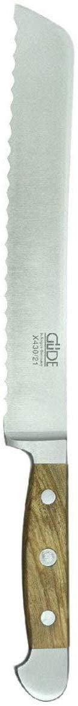 Gude(ギューデ) AlphaOlive ブレッドナイフ シルバーの商品画像3
