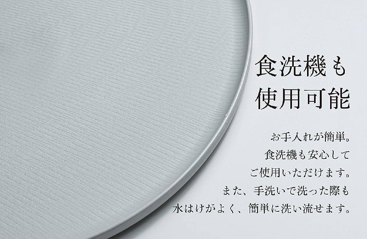 ARAS(エイラス) 大皿モアレ ブラック A_06BKの商品画像6